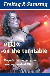 DJ - on the turntable