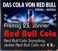 Red Bull Cola Sampling