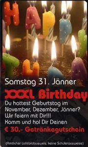 XXXL Birthdayparty