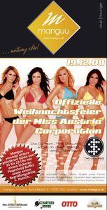 Offizielle Weihnachtsfeier der Miss Austria Corporation