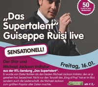 """DasSupertalent""Guiseppe Ruisi live@Evers"
