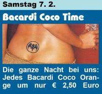 Bacardi Coco Time