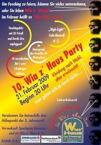 10.Wiaz`Haus Party@Wiaz`Haus Eitenberger