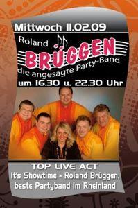 Roland Brüggen Band@Hohenhaus Tenne