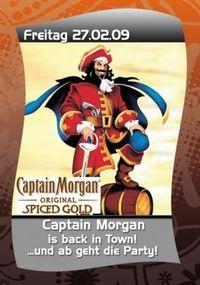 Captain Morgan is back in town @Hohenhaus Tenne