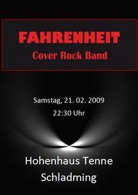 Fahrenheit@Hohenhaus Tenne