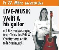 Wolfi & his guitar@Kinski