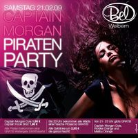 Captain Morgan Piratenparty@Disco Bel