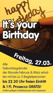 It´s your Birthday@Evers