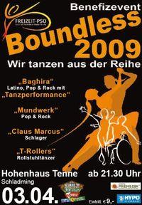 Boundless 2009 – Wir tanzen aus der Reihe@Hohenhaus Tenne