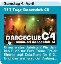 111 Tage Danceclub C4
