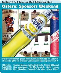 Ostern: Sponsors Weekend