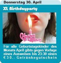 XL Birthdayparty