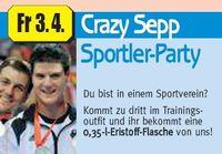 Sportler-Party@Crazy