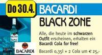 Bacardi Black Zone