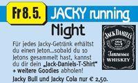 Jacky running Night