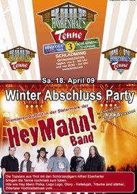 Winter Abschluss Party@Hohenhaus Tenne
