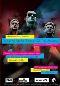 """Depeche Mode """"Sounds Of The Universe"""" Album Release Party"""