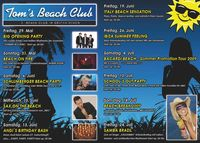 Bacardi Beach - Sommer Promotion Tour 2009