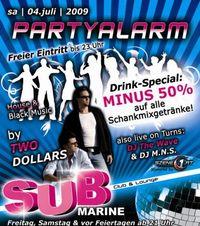 Partyalarm powered by Szene1@Disco Submarine