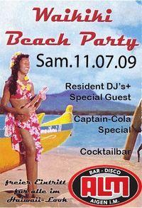 Beachparty@Almbar
