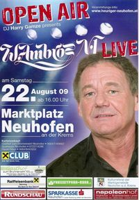 W. Ambros !ABGESAGT!@Marktplatz Neuhofen