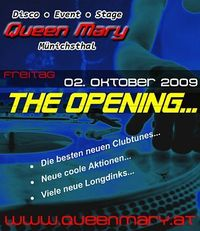 The Opening@Disco Queen Mary