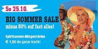 Big Sommer Sale