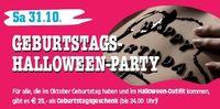 Geburtstagshalloween- Party