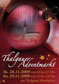 Thalgauer Adventmarkt@Marktplatz
