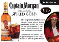 Captain Morgan Is In The House