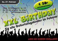 XXL Birthday Februar