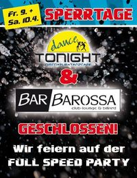 Tonight Geschlossen@DanceTonight