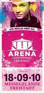 Arena Freistadt - mit Insulin Junky@Arena Freistadt