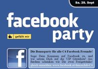 Facebook Party@Danceclub C4