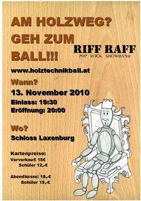Holztechnikball@Schloss Laxenburg