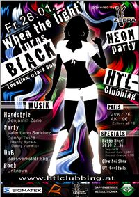 HTL-Clubbing - Neon-Party @b.lack (vorher Cave-Club)