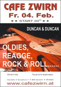 "LIVE MUSIC mit ""Duncan & Duncan""@Cafe Zwirn"